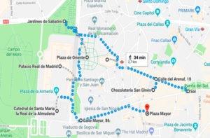 MARA RUTA ACCESIBLE MADRID DE LOS AUSTRIAS