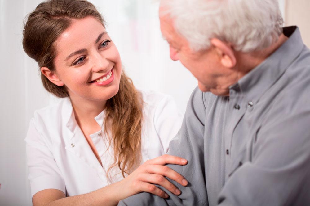 Cuidado de mayores: Administración de la Insulina
