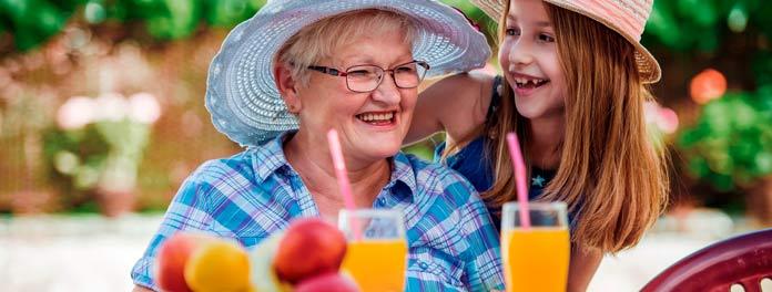 ¿Cómo adaptar la alimentación a las personas mayores?
