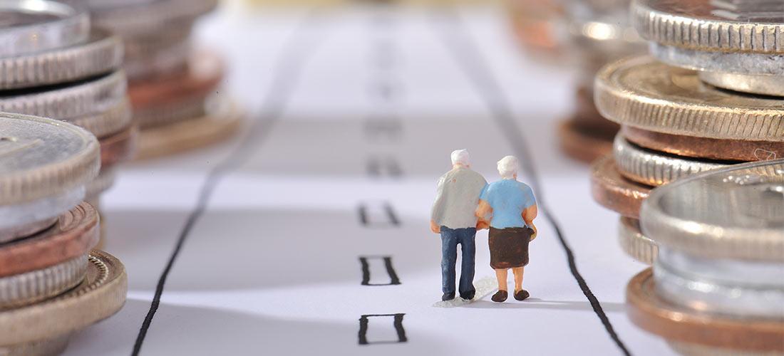 Imagen conceptual de la subida de las pensiones en 2021.